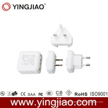 5V 1.2A Variabler Netzadapter und wechselbarer Netzstecker