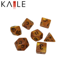 New Custom Polyhedral Different Color Funny Dice