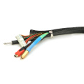 Zipper Braided Sleeve For Cable Harness