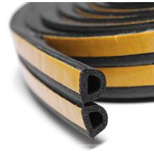 EPDM Sponge Rubber Seal Profiles Self-adhesive