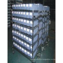 Fábrica industrial do rack da prateleira do fio do cromo do dever pesado