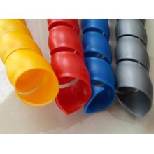 Protetor de cabo em espiral material PP