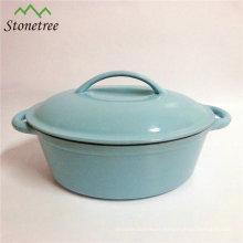 24cm Cast Iron Sauce Pan, Seasoned Cast Iron Sauce Pot