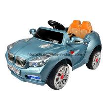 Coche de juguete eléctrico modelo dos con diseño de puerta abierta doble para niños bebé