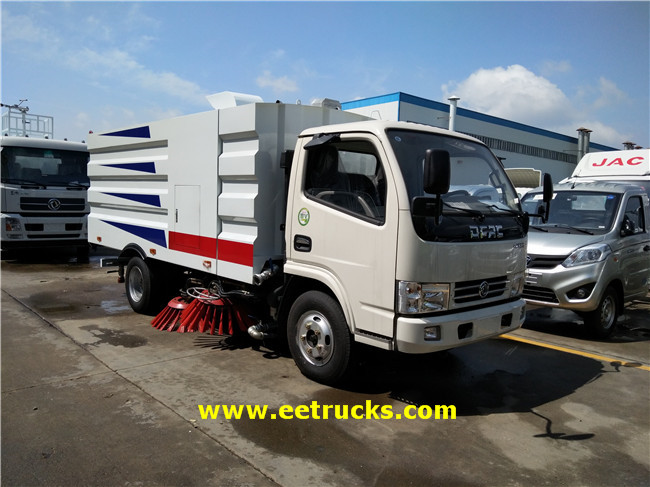 Dongfeng 3T Road Washing & Sweeping Trucks