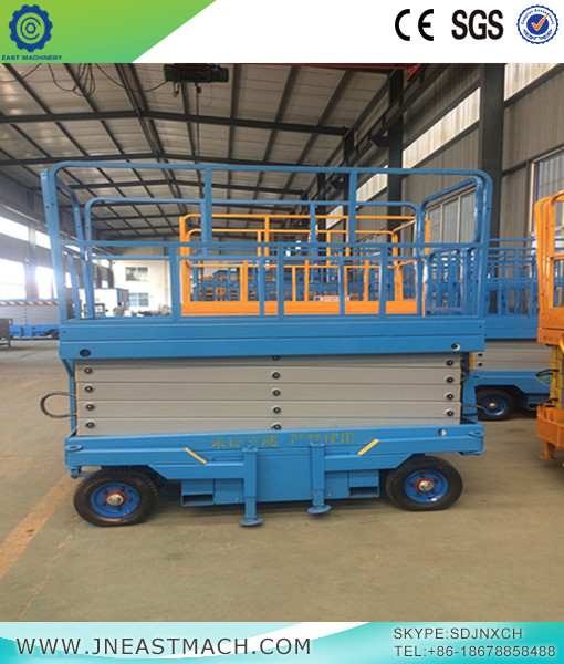 Diesel Power Scissor Lift