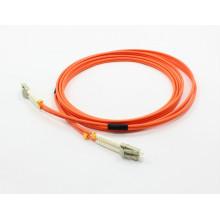 LC / PC-LC / PC 62,5 / 125 Дуплексный оптоволоконный патчкорд