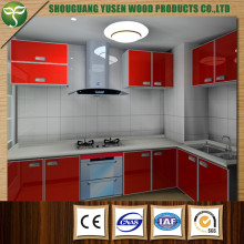 Wood Kitchen Cabinet for Project Use