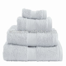 cotton hospital terry class stripe towel set
