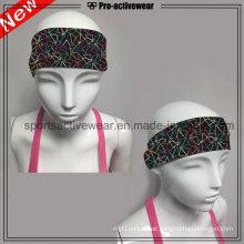 OEM Promotional Custom Made New Design Printed Elastic Sports Headband