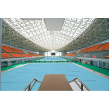 Large Span Light Steel Space Frame for Swimming Pool Cover