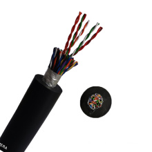 Silicone rubber cable 6 12 18 19 24 core 0.5mm 1mm 2.5mm flexible shielded electrical remote control cable