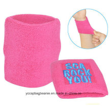 Custom Made Suave Zipper Sweatband Sports Wristband
