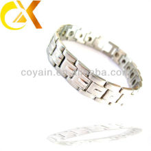 new silver chain design for men stainless steel jewelry bracelets