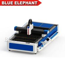 Cortador do laser da alimentação 500w auto, preço da máquina de corte do laser da fibra para o corte do metal