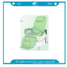 AG-XD206B Hôpital électrique chaise de don de sang utilisé avec IV stand