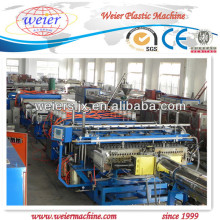 PE/PP Hollow Grid sheet line with CE certificate