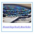 Neuester Entwurf Erdnuss-Form lampwork Knochen-Glasperlen 46 * Millimeter