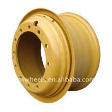 Engenharia / roda de aço OTR (roda leve de 3 peças)