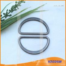 Внутренний размер 40 мм Металлические пряжки, Металлический регулятор, Металлическое кольцо D-Ring KR5080