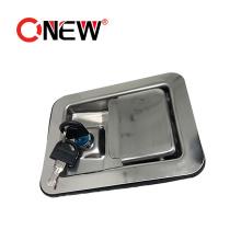 Stainless Steel Toolbox Paddle Lock Electrical Metal Box Panel Door Lock Set Handle