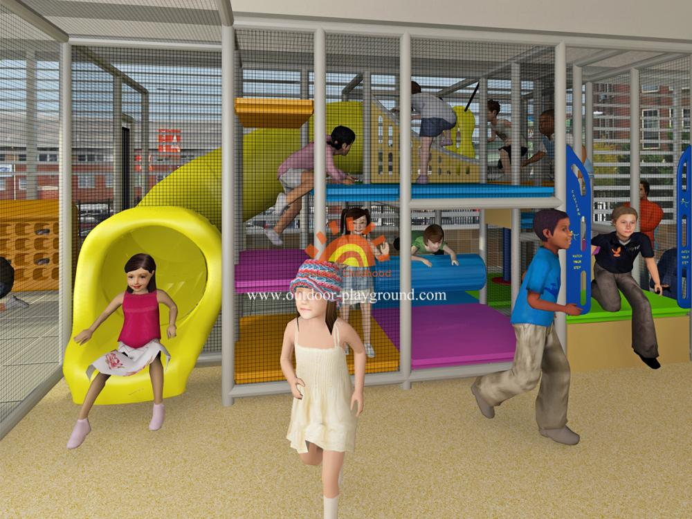 Indoor Playground Equipment For Sales