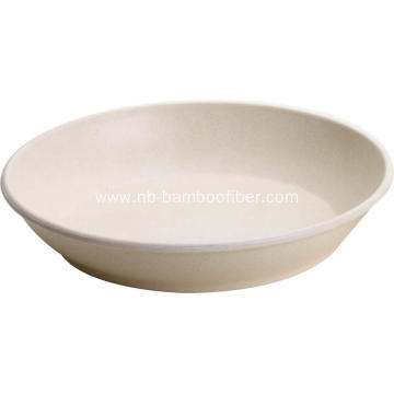 Big Bamboo Fiber Fruit Plate