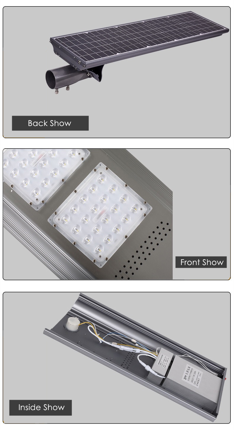 60w all in one integrated solar led street light delight eco energy