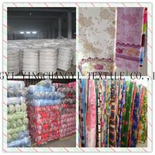 Poliester y 200-240cm ancho de algodón tela impresa