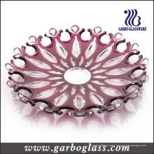 Plaque de verre rouge populaire (GB1714LK / P)