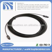 33-футовый цифровой оптический оптический волоконно-оптический кабель Toslink 10 м OD 2,2 мм
