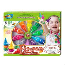 Satisfying service 30 Colours Kids Art for kids gel twist crayon