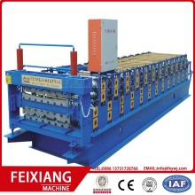 Double layer roof tile sheet roll forming machine