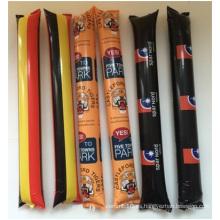Personalizada reabastecimiento fútbol fútbol palos, PE Material Abnormity La-La-La Bar