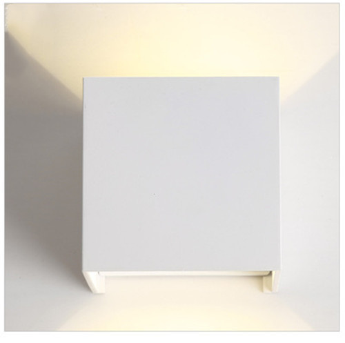 Square Contracted Led Outdoor Wall Light