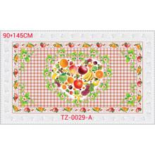 Nappe Transparente Imprimé PVC Colorfull de Conception Indépendante 90 * 145cm Usine En Gros
