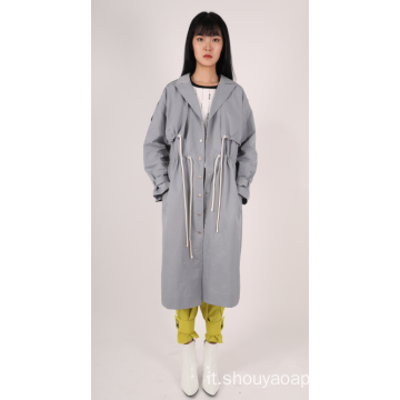 CAPPOTTO TRENCH DA DONNA CON COLLETTO