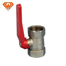 válvula de bola de latón para medidor de agua