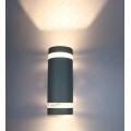 Aplique de pared LED Luz de pared de porche de jardín impermeable