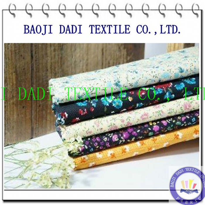 tc poplin print cloth fabric
