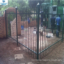 welded steel guard clear view fencing w pale palisade fence