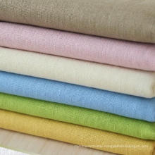 30s 85%Rayon 15%Linen Blended Fabric, Linen Rayon Plain Fabric