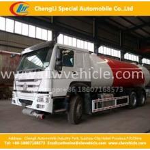 Heavy Duty HOWO 6 * 4 24cbm caminhão petroleiro LPG