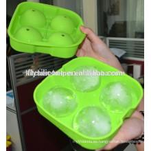 Novedad silicona ronda bolas de hielo bolas de 4 x 6.5 cm bolas redondas bola de hielo