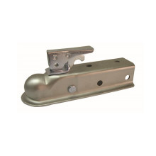 """2"""" Quick-Locking Trailer Straight Tongue Hitch Ball Coupler"""