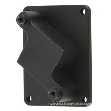 custom Aluminum metal anodization into black Drilling holes CNC service Machining part Camera parts