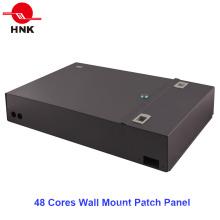Painel de Patch de Fibra Óptica 24/48 Cores Distribution Wall Mount