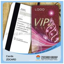 ПВХ карточка VIP печатание карточки подарка карточки магнитной нашивки