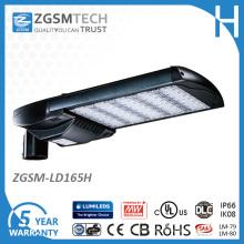 Iluminación del estacionamiento de 528VAC 165W LED con el sensor de movimiento