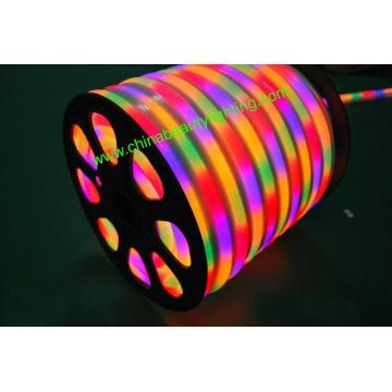 Luz de cuerda de neón LED flexible de 4 cables LED